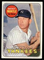 Mickey Mantle (Last Name in Yellow) [VG EX]