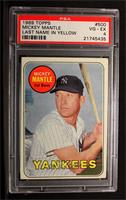 Mickey Mantle (Last Name in Yellow) [PSA 4]
