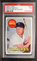 Mickey Mantle (Last Name in Yellow) [PSA 7]