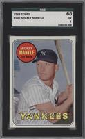 Mickey Mantle (Last Name in Yellow) [SGC 60]