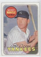 Mickey Mantle (Last Name in Yellow) [Poor to Fair]