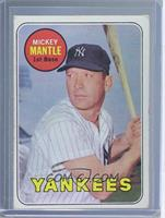 Mickey Mantle (Last Name in Yellow) [Poor]