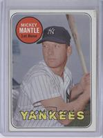 Mickey Mantle (White Letters) [Good to VG‑EX]