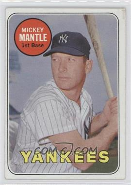 1969 Topps #500.1 - Mickey Mantle (White Letters) [GoodtoVG‑EX]