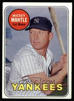Mickey Mantle (Last Name in White) [VG]