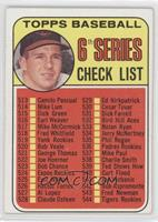 6th Series Checklist (Brooks Robinson)