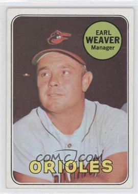 1969 Topps #516 - Earl Weaver