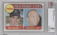 Tigers Rookie Stars (Mike Kilkenny, Ron Woods) [BVG 8]