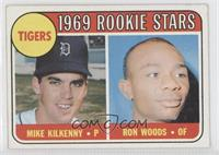 Tigers Rookie Stars (Mike Kilkenny, Ron Woods)