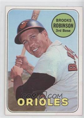 1969 Topps #550 - Brooks Robinson