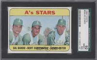 A's Stars (Sal Bando, Bert Campaneris, Danny Cater) [SGC92]