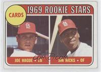 Joe Hague, Jim Hicks