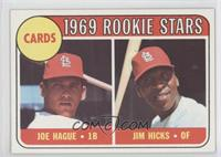 Joe Hague, Jim Hicks
