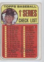 Denny McLain (Checklist 1st Series) [Poor to Fair]