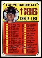 Denny McLain (Checklist 1st Series) [EXMT]