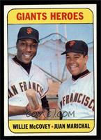Willie McCovey, Juan Marichal [NM]