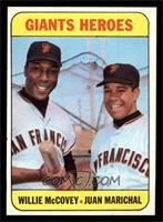 Willie McCovey, Juan Marichal [NM MT]