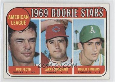 1969 Topps #597 - American League 1969 Rookie Stars (Bobby Floyd, Larry Burchart, Rollie Fingers)