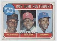 National League Home Run Leaders (Willie McCovey, Richie Allen, Ernie Banks) [P…