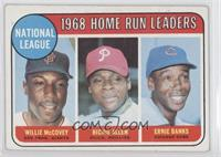 National League Home Run Leaders (Willie McCovey, Richie Allen, Ernie Banks) [G…