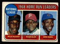 National League Home Run Leaders (Willie McCovey, Richie Allen, Ernie Banks) [V…