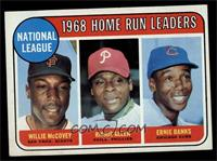 National League Home Run Leaders (Willie McCovey, Richie Allen, Ernie Banks) [E…