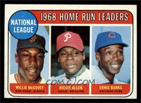 National League Home Run Leaders (Willie McCovey, Richie Allen, Ernie Banks) [E…
