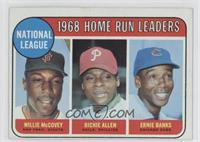 National League Home Run Leaders (Willie McCovey, Richie Allen, Ernie Banks)