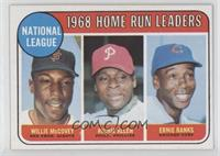 National League Home Run Leaders (Willie McCovey, Richie Allen, Ernie Banks)