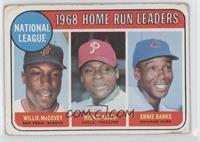 National League Home Run Leaders (Willie McCovey, Richie Allen, Ernie Banks) [G…