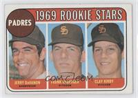 Jerry Davanon, Frank Reberger, Clay Kirby