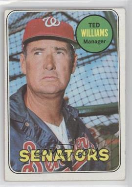 1969 Topps #650 - Ted Williams
