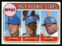 Dick Drago, George Spriggs, Bob Oliver [EX]