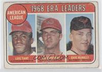 Luis Tiant, Sam McDowell, Dave McNally [Poor to Fair]