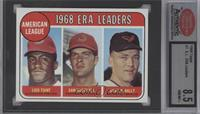 Luis Tiant, Sam McDowell, Dave McNally [ENCASED]