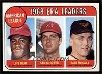 Luis Tiant, Sam McDowell, Dave McNally [EX MT]