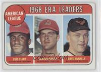 Luis Tiant, Sam McDowell, Dave McNally [Good to VG‑EX]