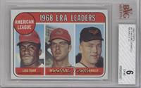 Luis Tiant, Sam McDowell, Dave McNally [BVG 6]