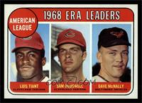 Luis Tiant, Sam McDowell, Dave McNally [NM]