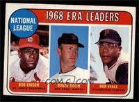 ERA Leaders (Bob Gibson, Bobby Bolin, Bob Veale) [VGEX]