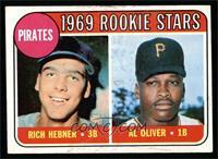 Pirates Rookie Stars (Richie Hebner, Al Oliver) [EX]
