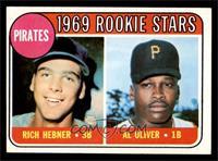 Pirates Rookie Stars (Richie Hebner, Al Oliver) [EXMT]
