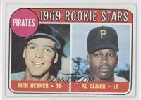Pirates Rookie Stars (Richie Hebner, Al Oliver)