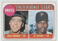Pirates Rookie Stars (Richie Hebner, Al Oliver) [Poor to Fair]