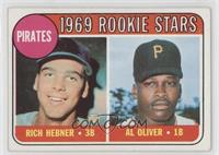 Pirates Rookie Stars (Richie Hebner, Al Oliver)