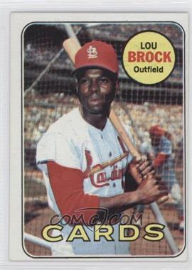 1969 Topps #85 - Lou Brock