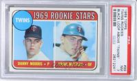 Twins Rookie Stars (Danny Morris, Graig Nettles) (Error: Black Loop Above Twins…