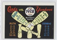 St. Louis Cardinals Team, New York Yankees Team [Good to VG‑EX]
