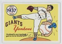 New York Yankees Team, New York Giants, Carl Hubbell