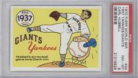 New York Yankees Team, New York Giants, Carl Hubbell [PSA 8]
